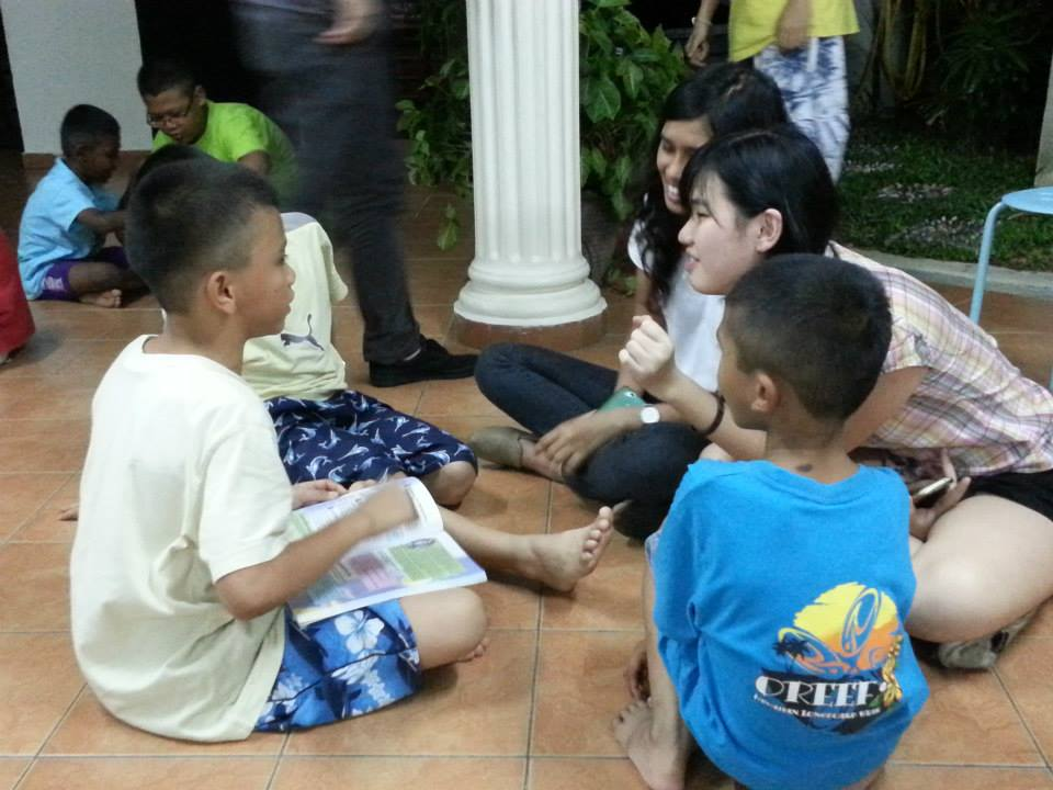 Orphanage And Old Folks Visit
